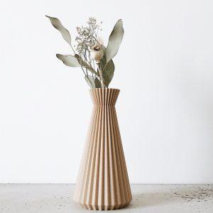 Petit vase en impression 3D design et original, fabriqué en France