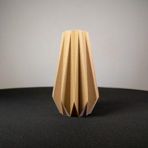 Vase origami écologique, Fabriqué à Lyon à base de maïs