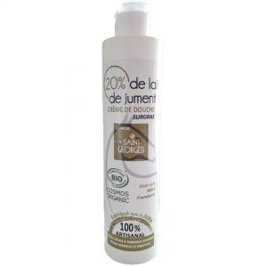 Gel Douche BIO certifié par COSMEBIO, fabriqué en plein coeur du jura par une petite savonnerie artisanale
