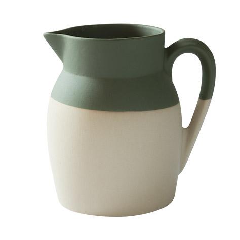 Pichet d'eau – Vert mousse