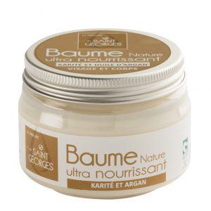 Baume COSMEBIO ultra nourrissant pour peau sensible, baume karaté et huile d'argan nature