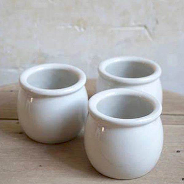 Pot à yaourt – Blanc