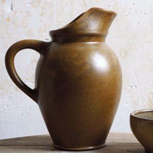 Pinte à cidre tradition couleur Brun de la Manufacture de Digoin