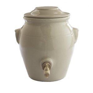 Pot à vinaigre de Digoin couleur naturel